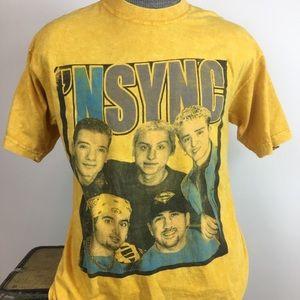 Tops - Vintage *NSYNC Concert Tour T-shirt Size M/L